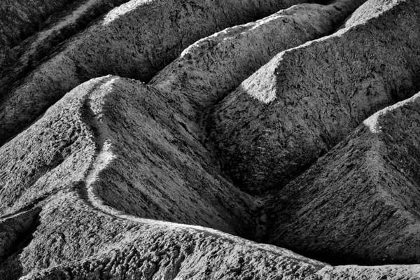 Photograph - Zabriskie Point Badlands - Death Valley by Stuart Litoff