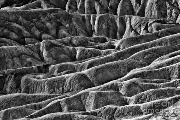 Photograph - Zabriskie Point Designs Death Valley by Blake Richards