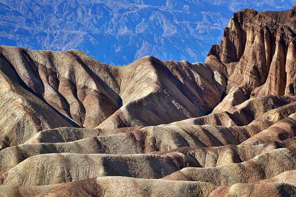 Photograph - Zabriskie Point View - Death Valley by Stuart Litoff