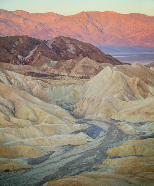 Wall Art - Photograph - Zabriskie Sunrise Xii by Ricky Barnard