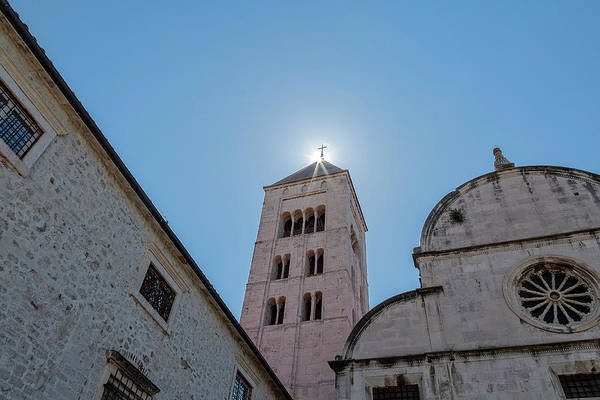 Photograph - Zadar, Croatia, Bell Tower by Kay Brewer