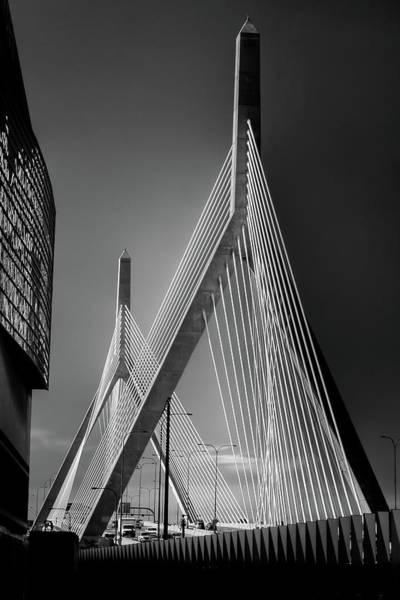 Photograph - Zakim Bridge 3 - Boston by Joann Vitali