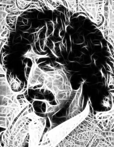 Frank Zappa Wall Art - Digital Art - Zappa by Paul Van Scott