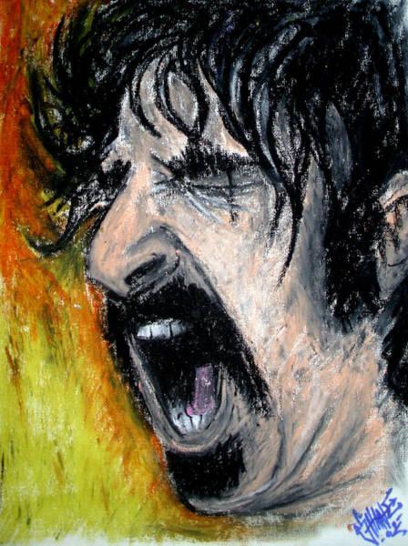 Frank Zappa Painting - Zappa by Sam Hane