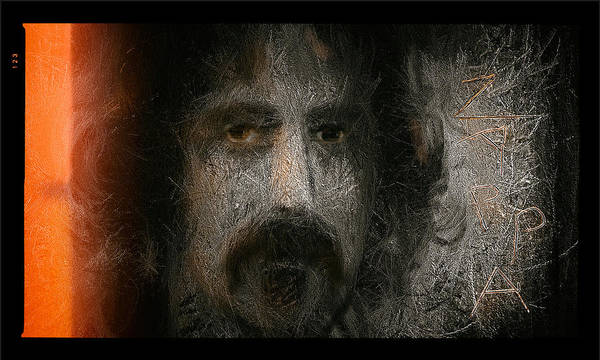Frank Zappa Painting - Zappa-the Deathless Horsie by Michael Cleere