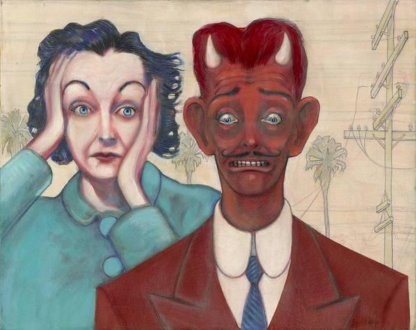 Painting - Zasu And Him... by John Reynolds