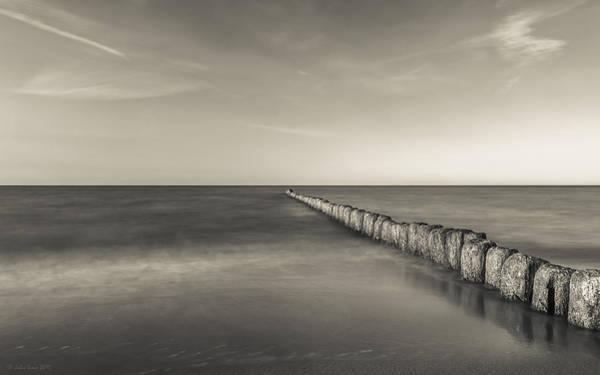 Photograph - In The Mood Of Zen - Creamy Break In by Julis Simo