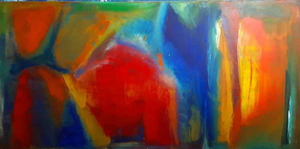 Wall Art - Painting - Zeal by Tanya Lozano Abstract Expressionism