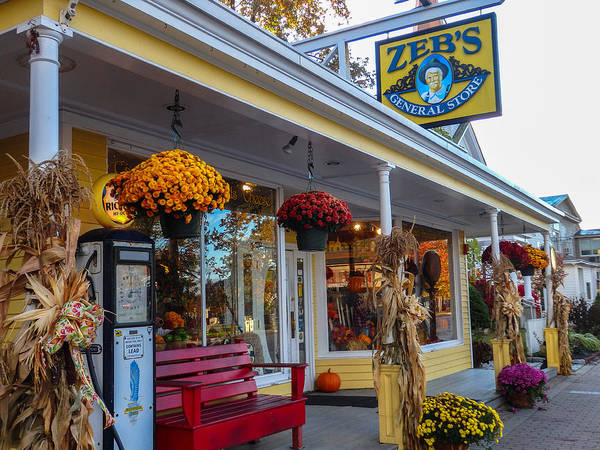 Photograph - Zebs General Store, North Conway 1 by Nancy De Flon