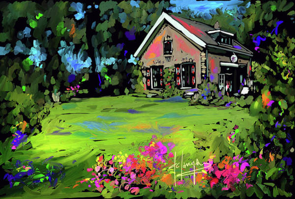 Painting - Zeist, Netherlands by DC Langer