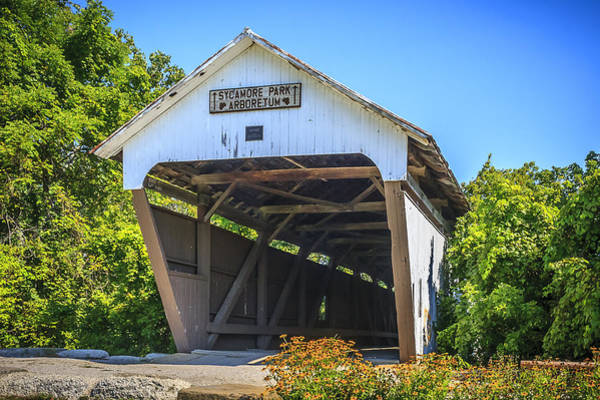 Photograph - Zeller-smith Covered Bridge by Jack R Perry
