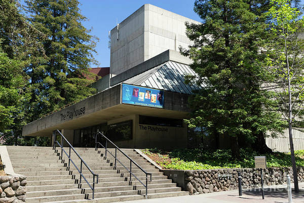 Zellerbach Playhouse At University Of California Berkeley Dsc6306 Art Print