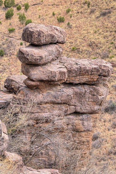 Wall Art - Photograph - Zen Balance In Davis Mountains State Park by JC Findley