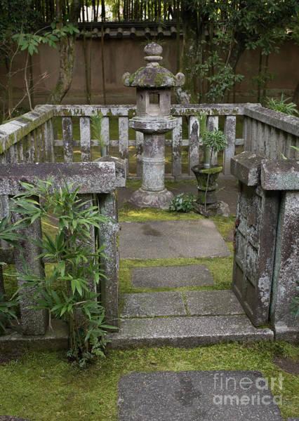 Photograph - Zen Garden, Kyoto Japan 3 by Perry Rodriguez