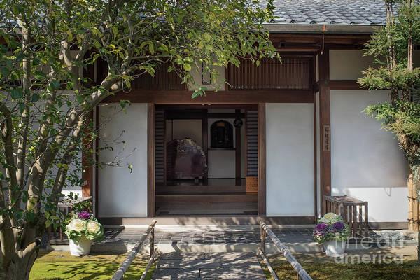 Photograph - Zen Garden, Kyoto Japan 4 by Perry Rodriguez