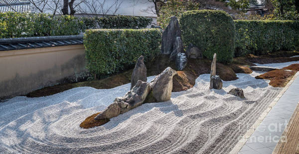 Photograph - Zen Garden, Kyoto Japan 6 by Perry Rodriguez