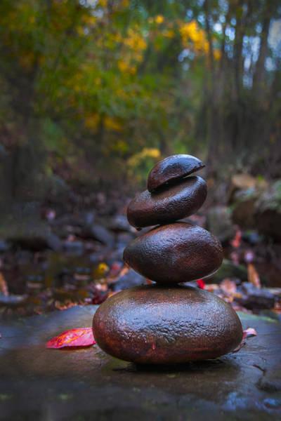 Wall Art - Photograph - Zen Rocks I by Greg Waters