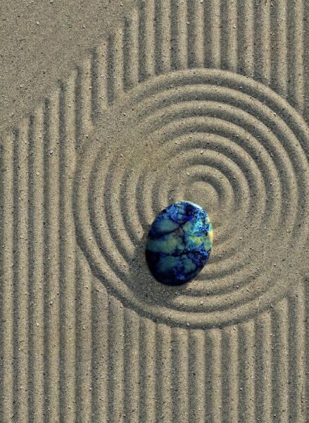 Wall Art - Digital Art - Zen Sand by Cynthia Decker