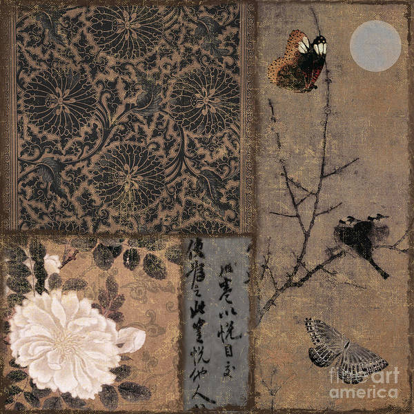 Wall Art - Painting - Zen Spice II by Mindy Sommers