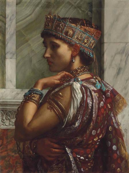 Wall Art - Painting - Zenobia Captive  by Edward John Poynter