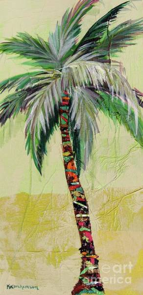Painting - Zest Palm IIi by Kristen Abrahamson