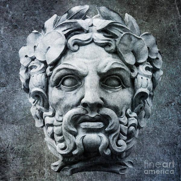 Photograph - Zeus Greek God by Gary Whitton