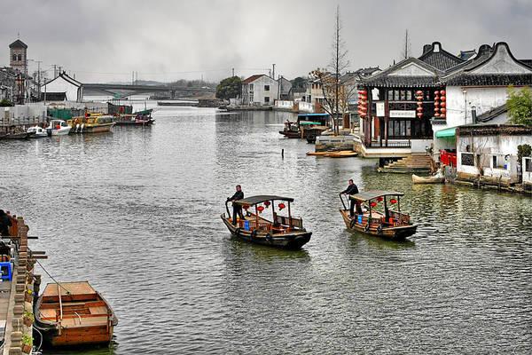 Photograph - Zhujiajiao - A Glimpse Of Ancient Yangtze Delta Life by Christine Till