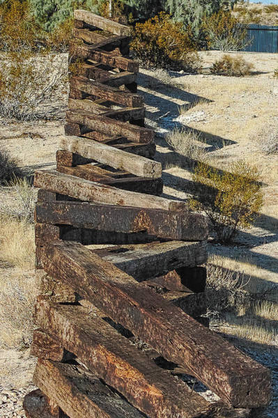 Photograph - Zig Zag Fence by Peter Dyke
