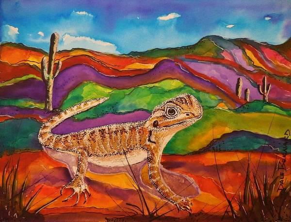 Painting - Ziggy by Dale Bernard