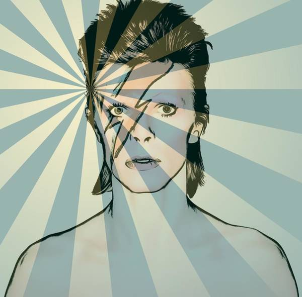 Wall Art - Mixed Media - Ziggy by Dan Sproul