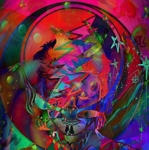 Ziggy Stardust Painting - Ziggy  by Kevin Caudill