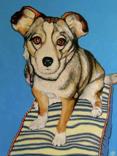Roderick Painting - Ziggy by Tom Roderick