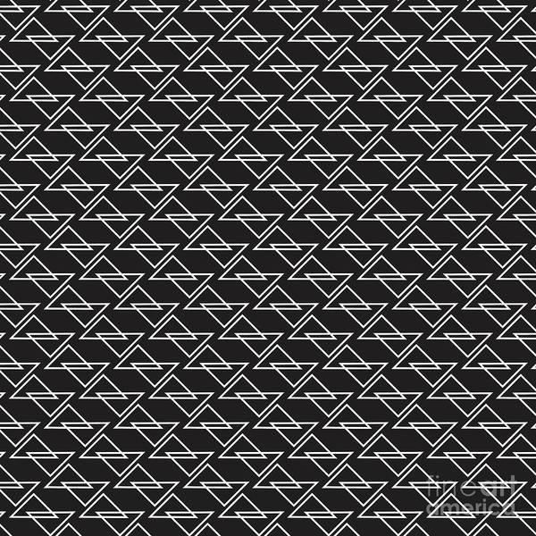 Wall Art - Digital Art - Zigzag by Amir Faysal