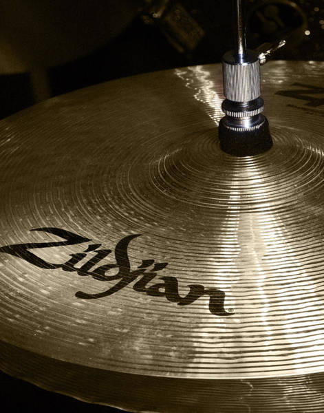 Photograph - Zildjian Cymbal by Jim Mathis