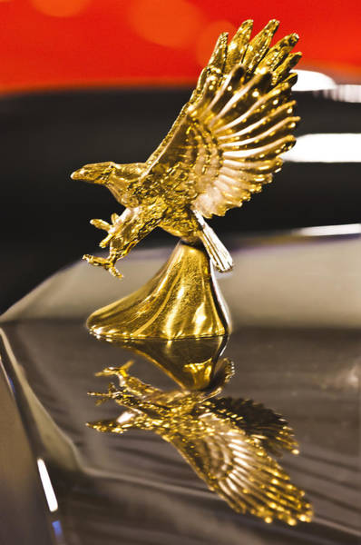 Photograph - Zimmer Eagle Hood Ornament 2 by Jill Reger