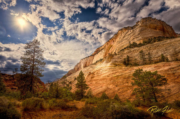 Photograph - Zion Afternoon by Rikk Flohr