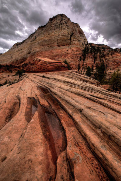 Photograph - Zion Curtain by Ryan Smith