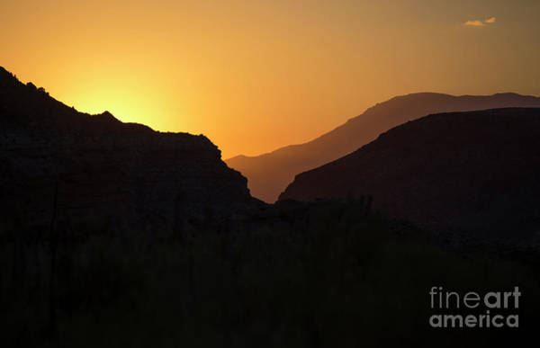 Wall Art - Photograph -  Zion Dawn by Diane Diederich