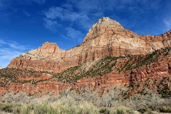 Photograph - Zion National Park - 6 by Christy Pooschke