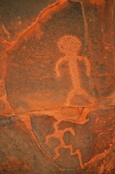Photograph - Zion National Park Petroglyph by Kyle Hanson