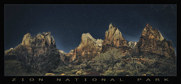 Wall Art - Photograph - Zion Stars by Robert Fawcett