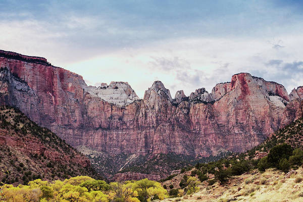 Desert View Tower Photograph - Zion's Towers Of The Virgin by Stephanie McDowell