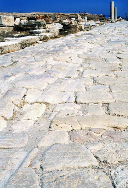 Wall Art - Photograph - Zippori Roman Capital Of The Galilee Region by Thomas R Fletcher