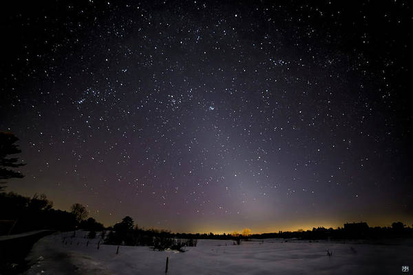Photograph - Zodiacal Light by John Meader