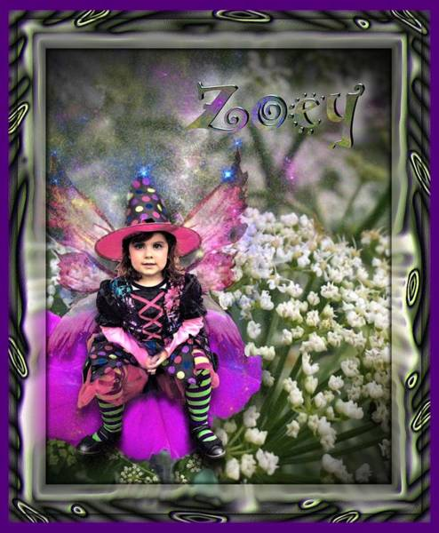 Digital Art - Zoey by Susan Kinney