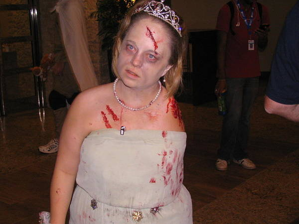 Cosplay Photograph - Zombie Amputee by Jim Williams