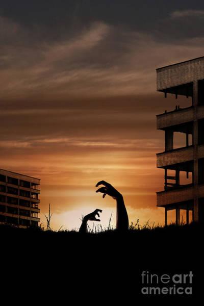 Photograph - Zombie Awakening by Clayton Bastiani