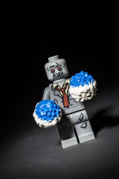 Zombies Photograph - Zombie Cheerleader  by Samuel Whitton