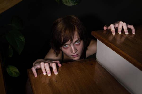 The Undead Photograph - Zombie Girl by Yuka Ogava