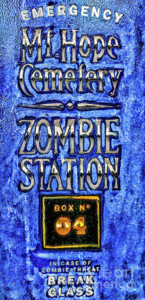 Photograph - Zombie Station by William Norton